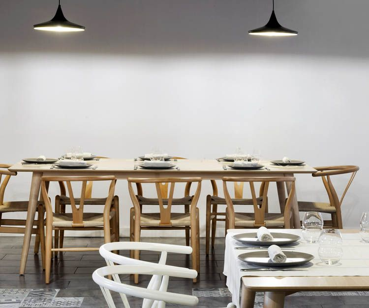 Restaurante con menús para grupos