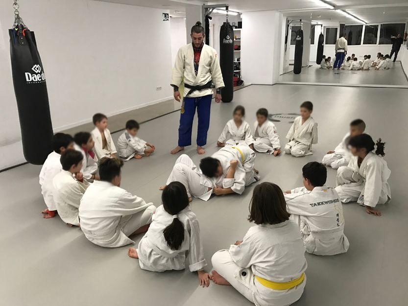 Clases de autodefensa para niños en Tarragona