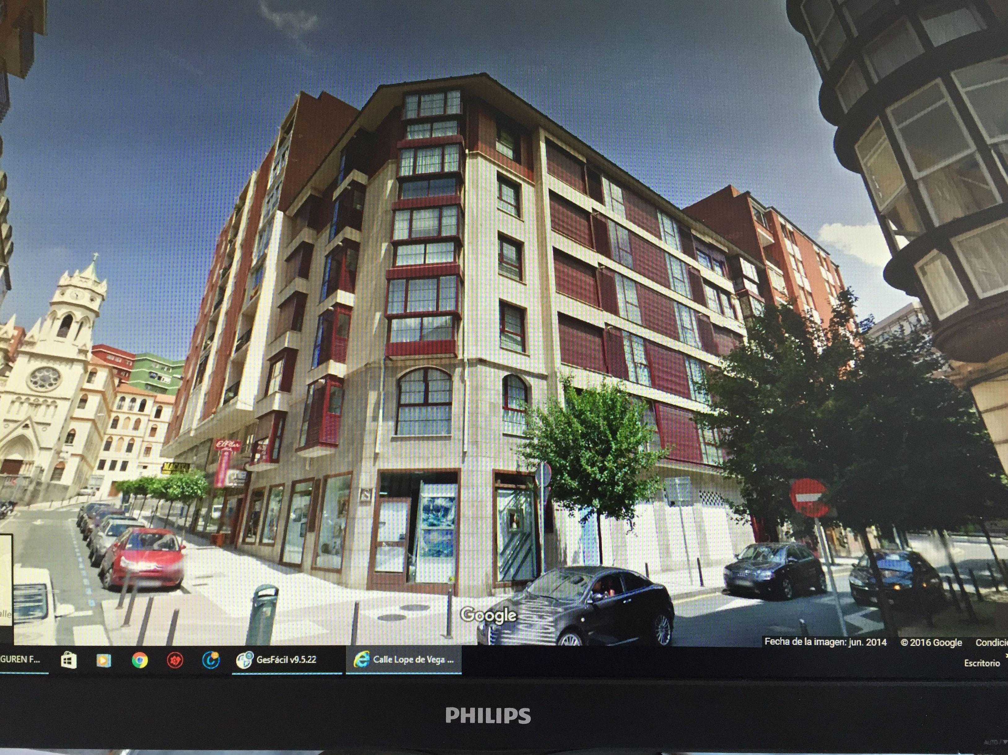 Edeificio en c/ Valliciergo de Santander