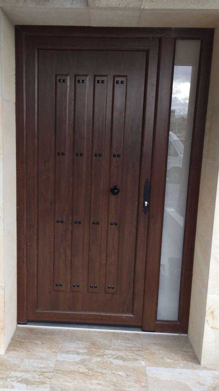 Puerta de PVC en Santander