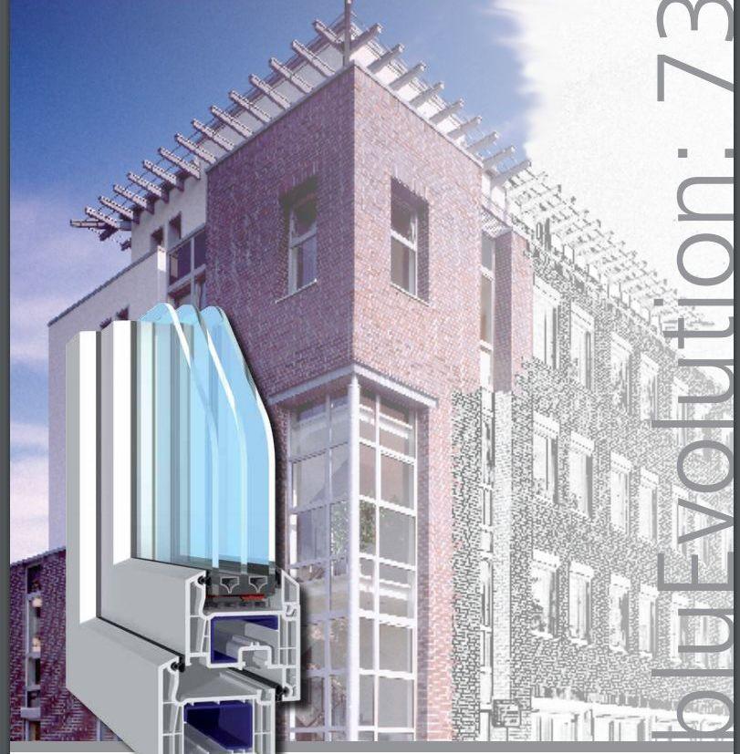 Ficha técnica de ventanas de pvc de 2 juntas SALAMANDER: Productos y Servicios de H.G. Eguren