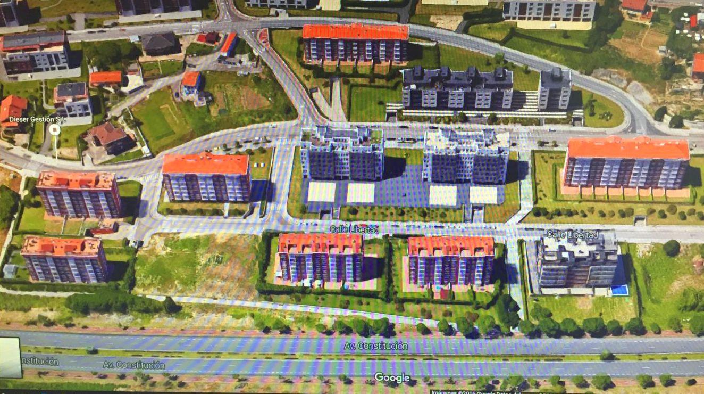 7 edificios con el tejado de teja roja en la S20
