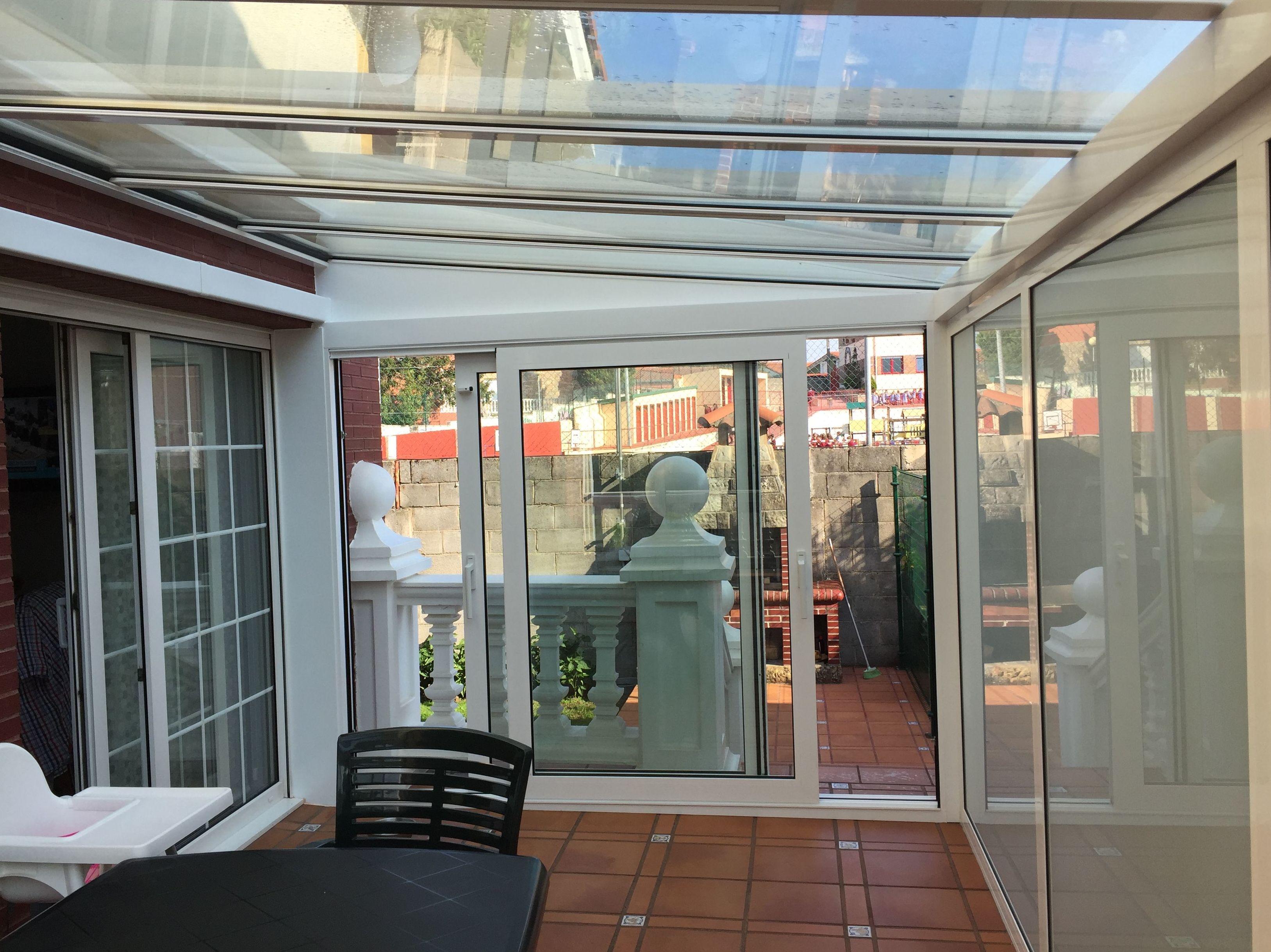 Aprovechamiento terraza - salón - comedor