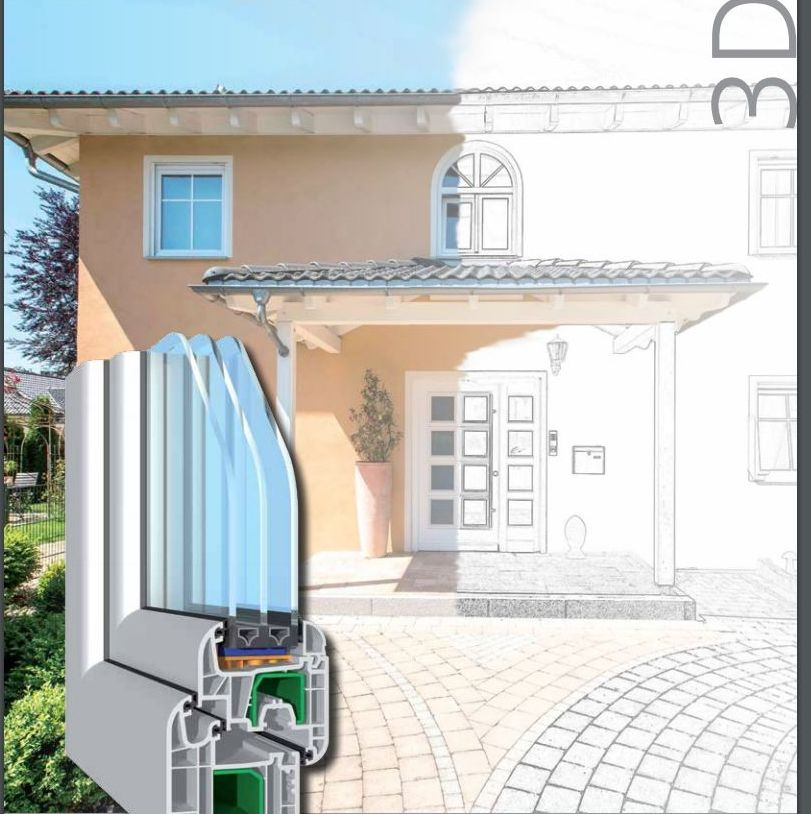 Ficha técnica de ventanas de pvc de 3 juntas SALAMANDER: Productos y Servicios de H.G. Eguren