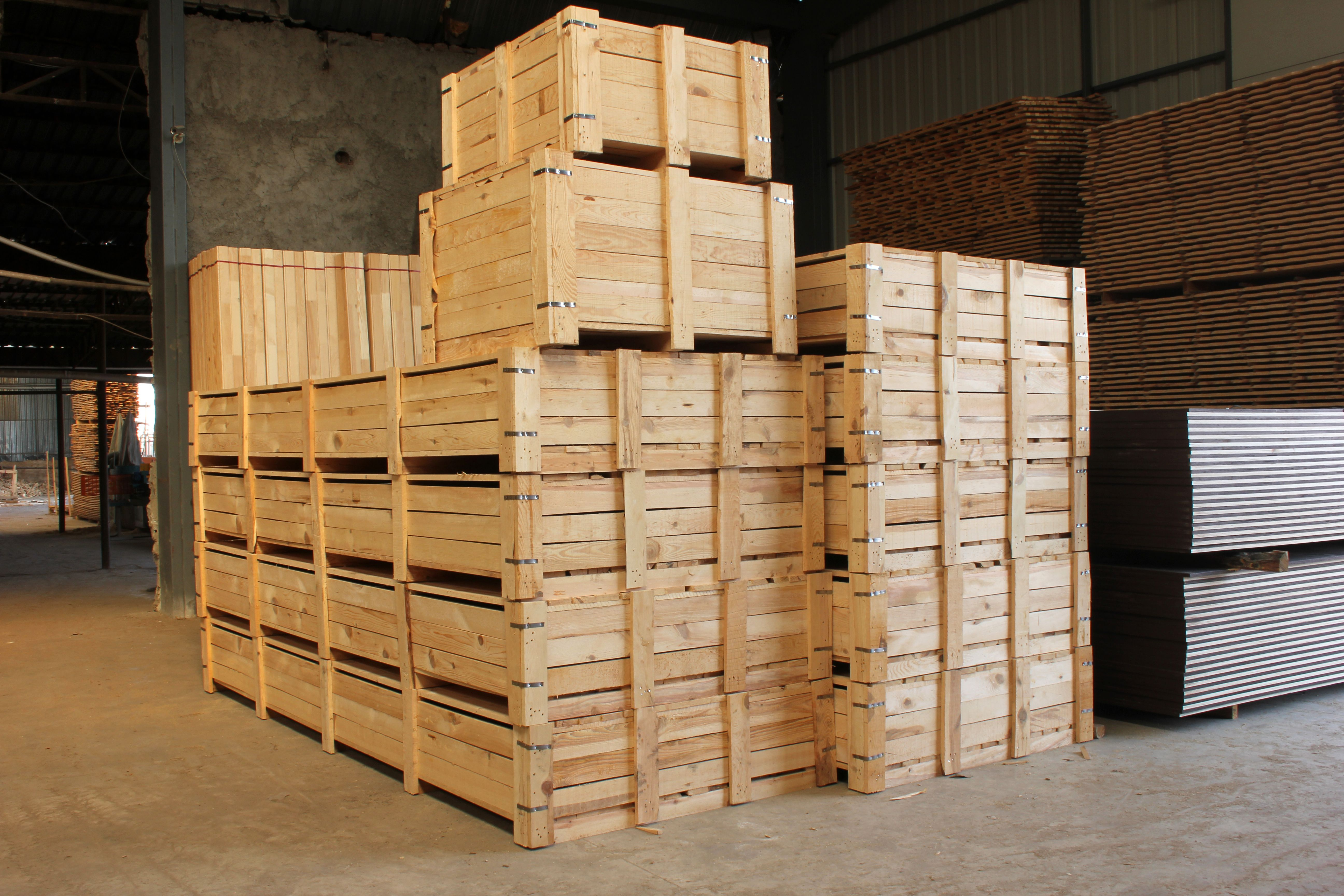 Expertos en embalajes de madera en Fuenlabrada
