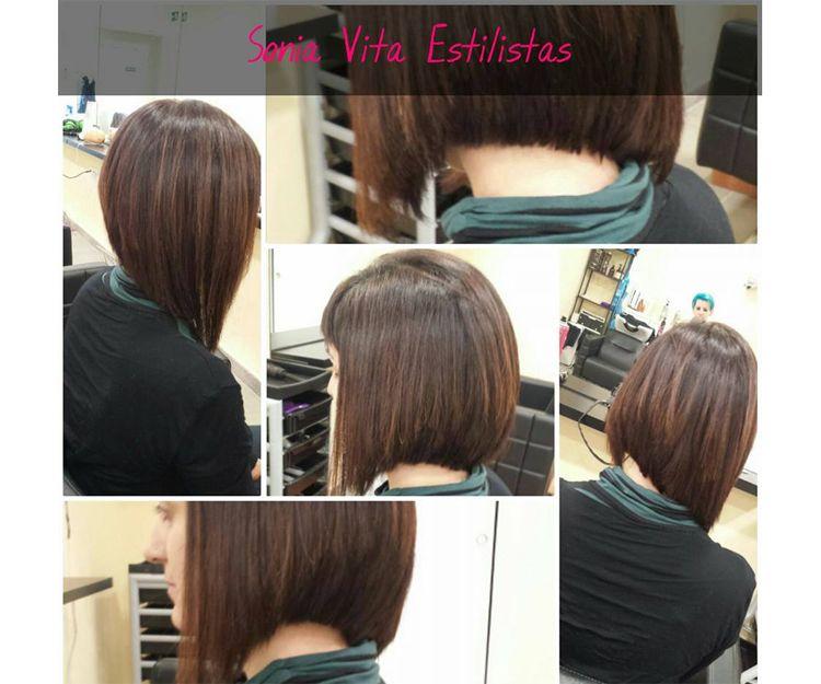 Corte de pelo asimétrico