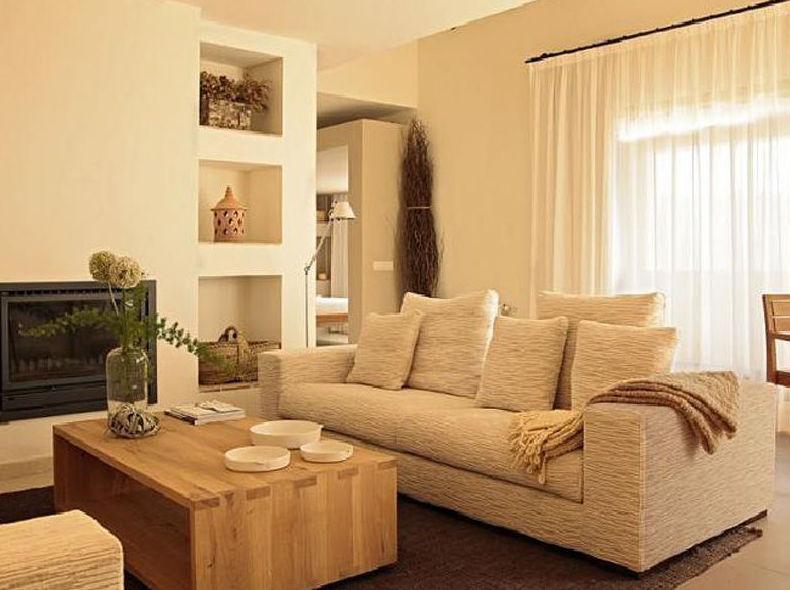 Confortables y amplias habitaciones con chimenea