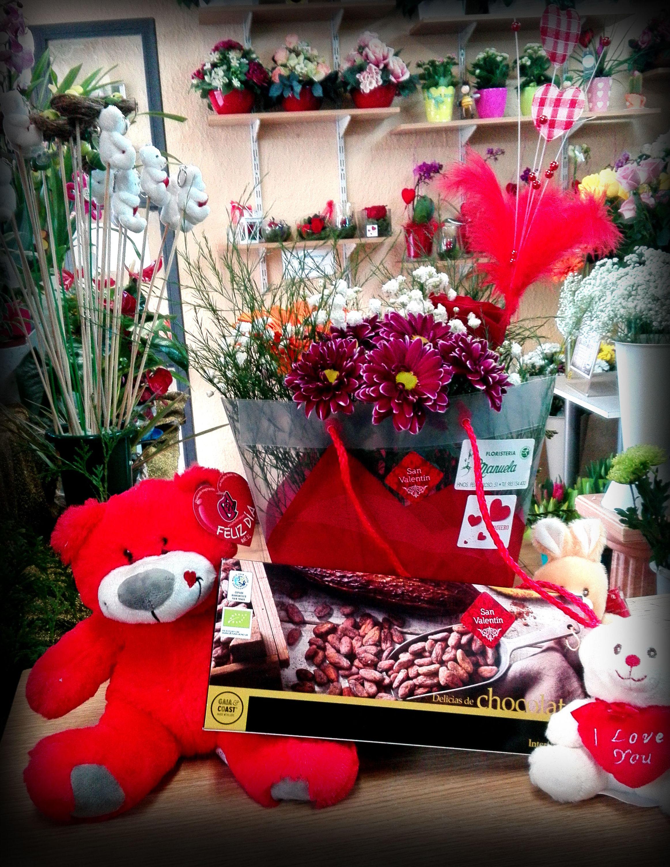 Productos varios para San Valentin: CATALOGO de Floristería Manuela
