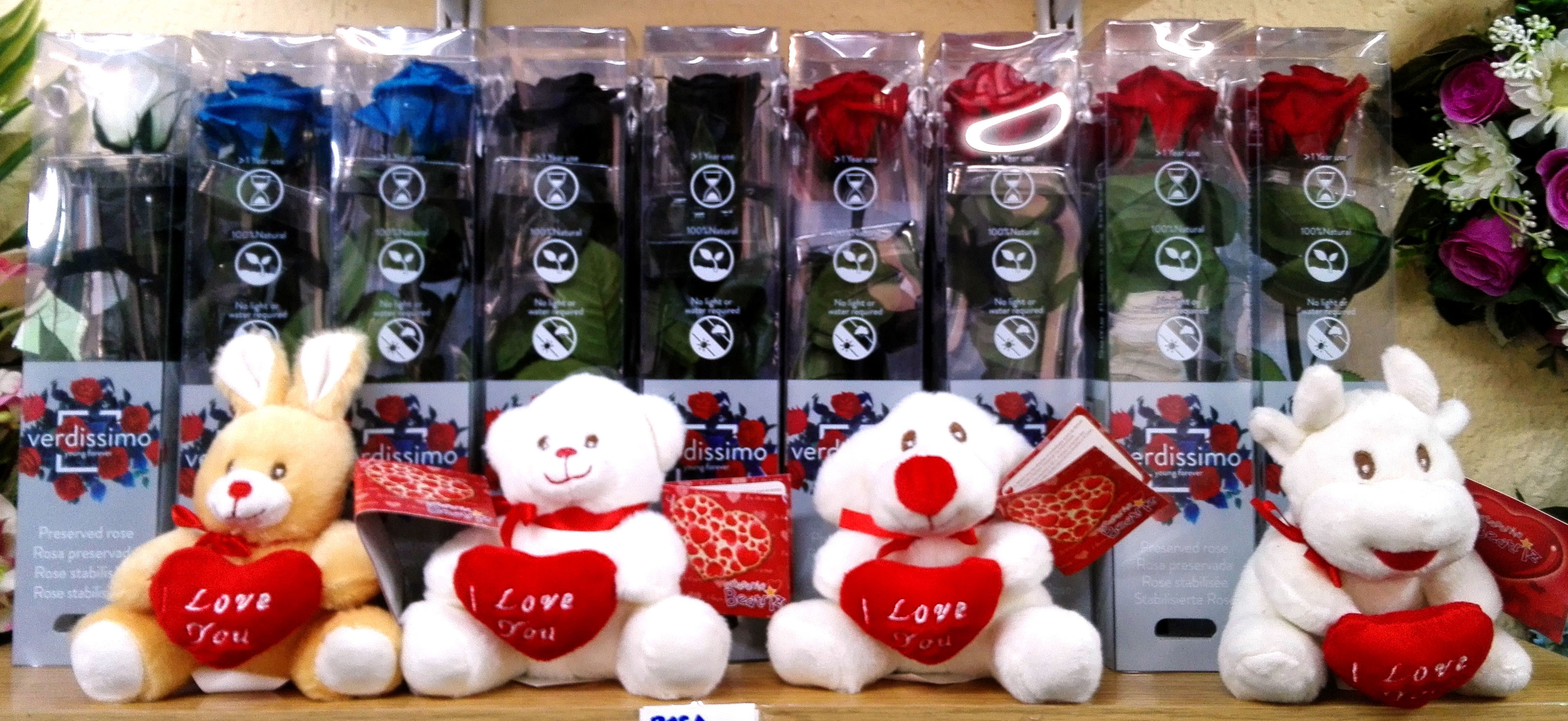 "Peluches, animales ""I Love You"""