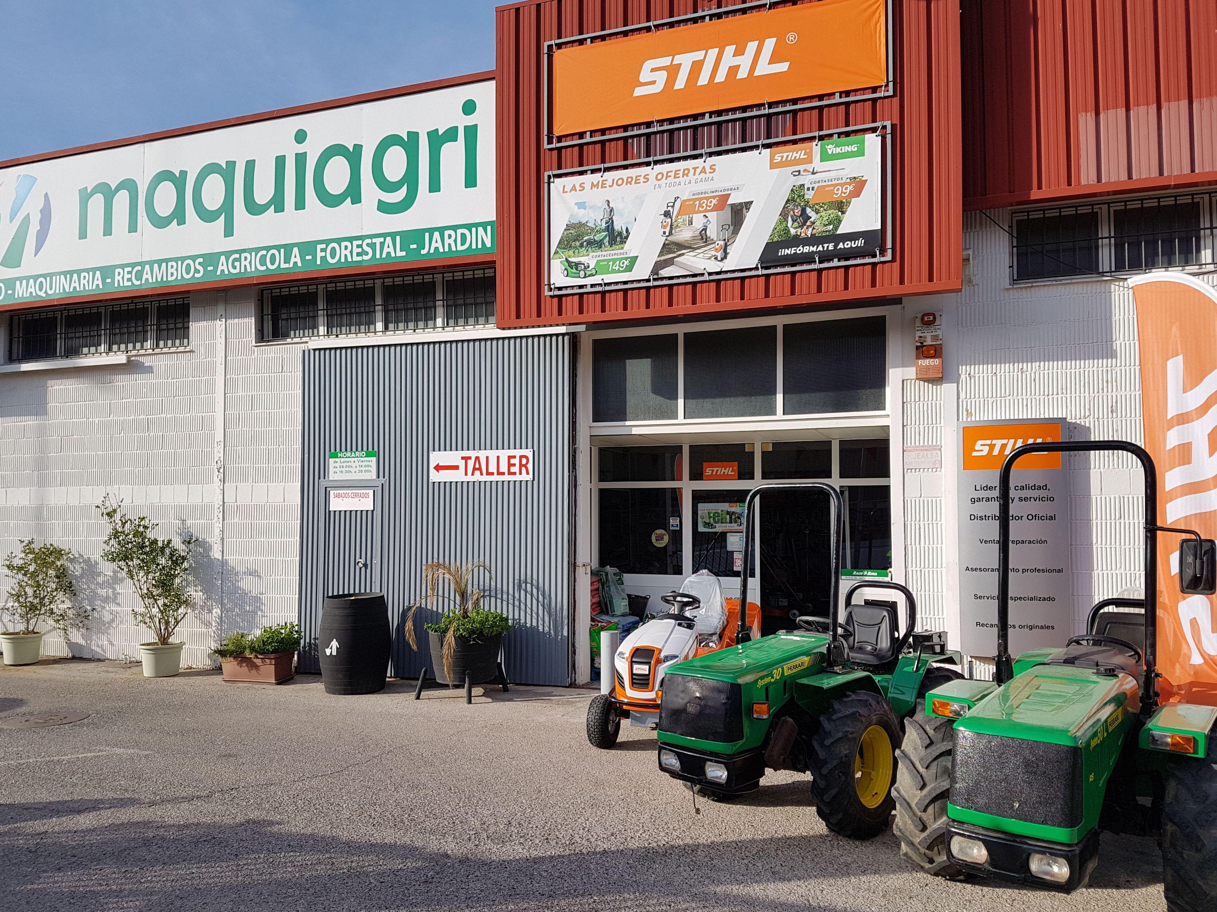Maquiagri en Jerez de la Frontera