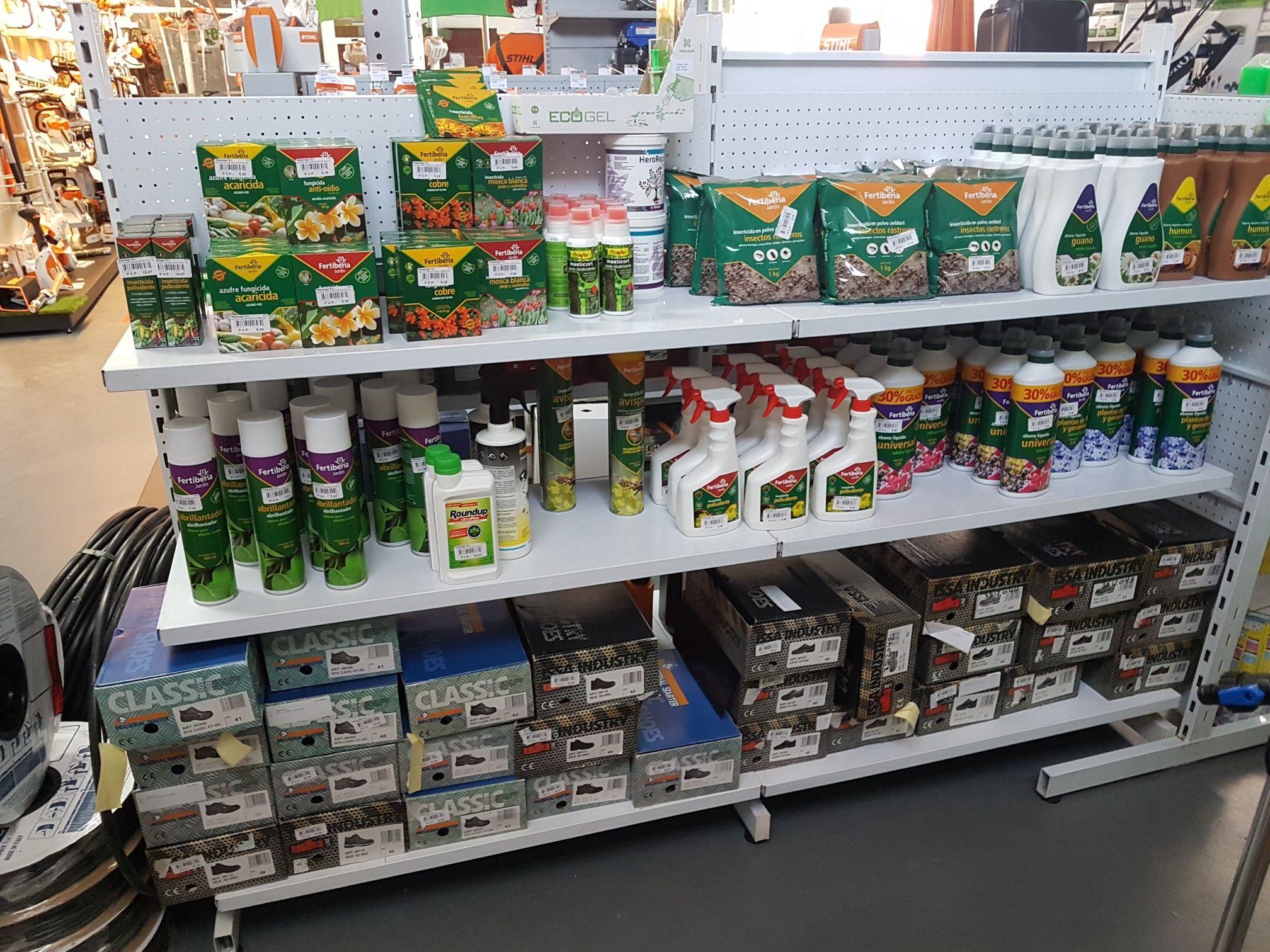 Fitosanitarios y todo tipo de productos para jardinería