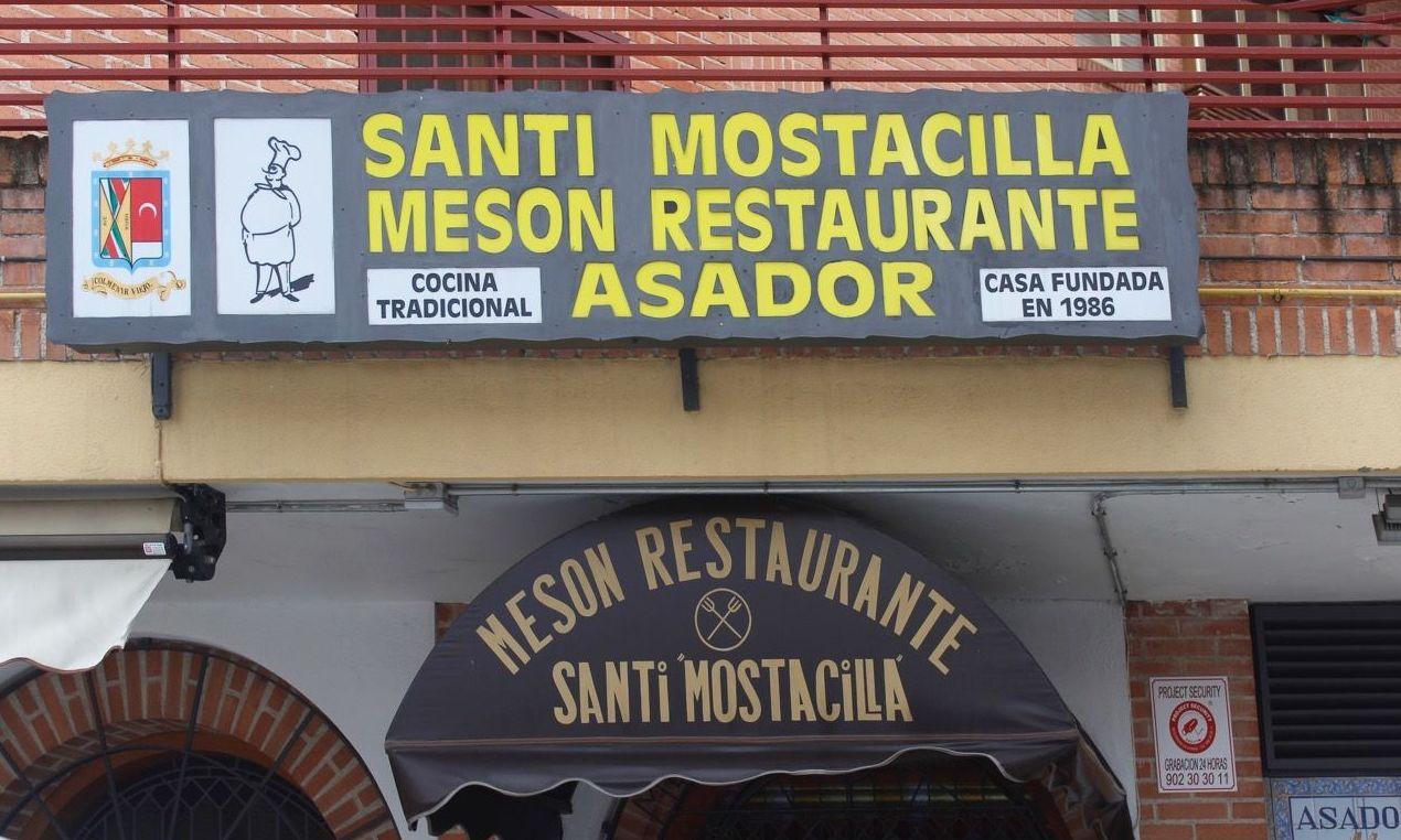 Menú del día: Carta de Restaurante Santi Mostacilla