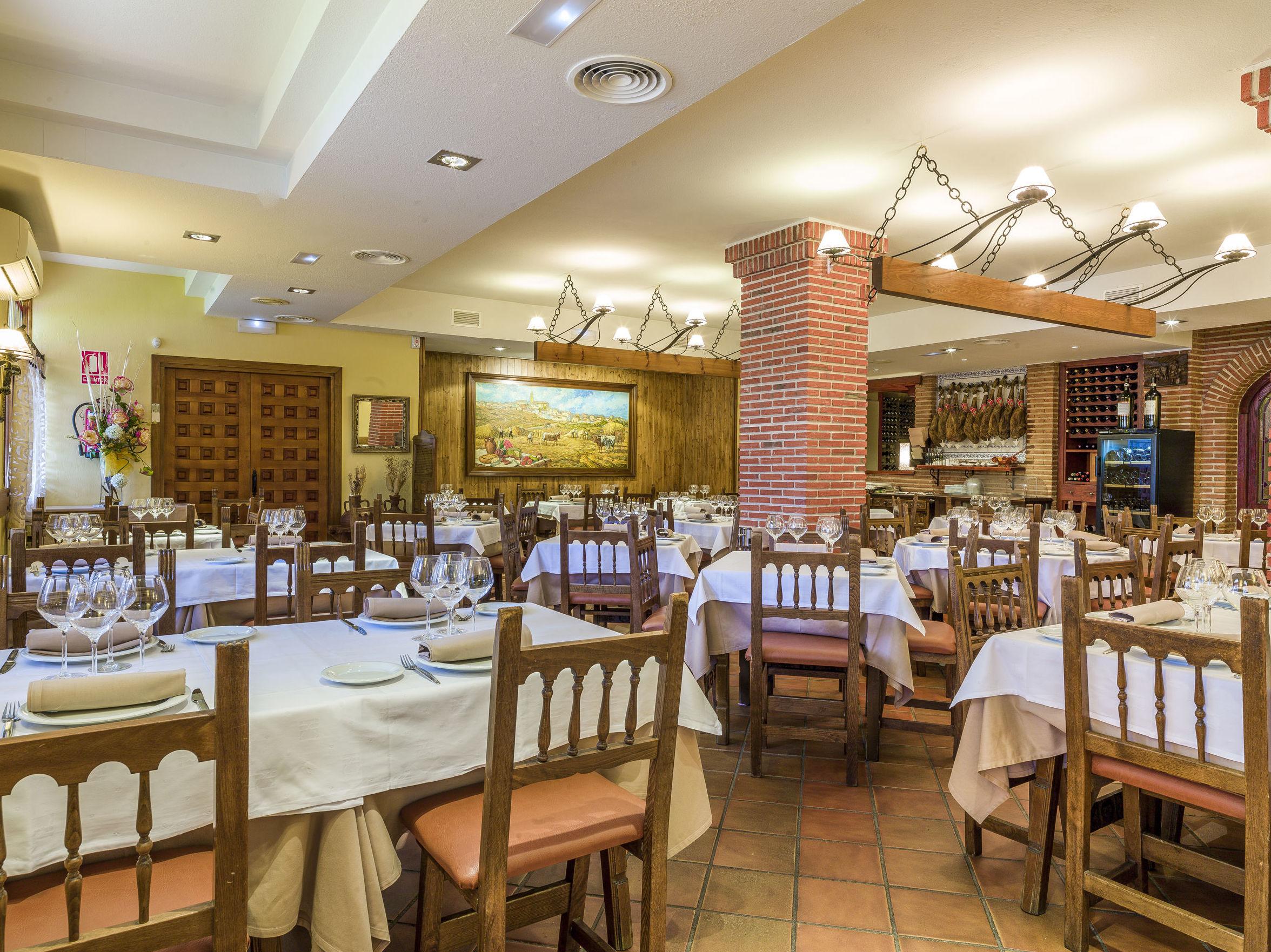 Restaurante Santi Mostacilla, cocina tradicional en Colmenar Viejo