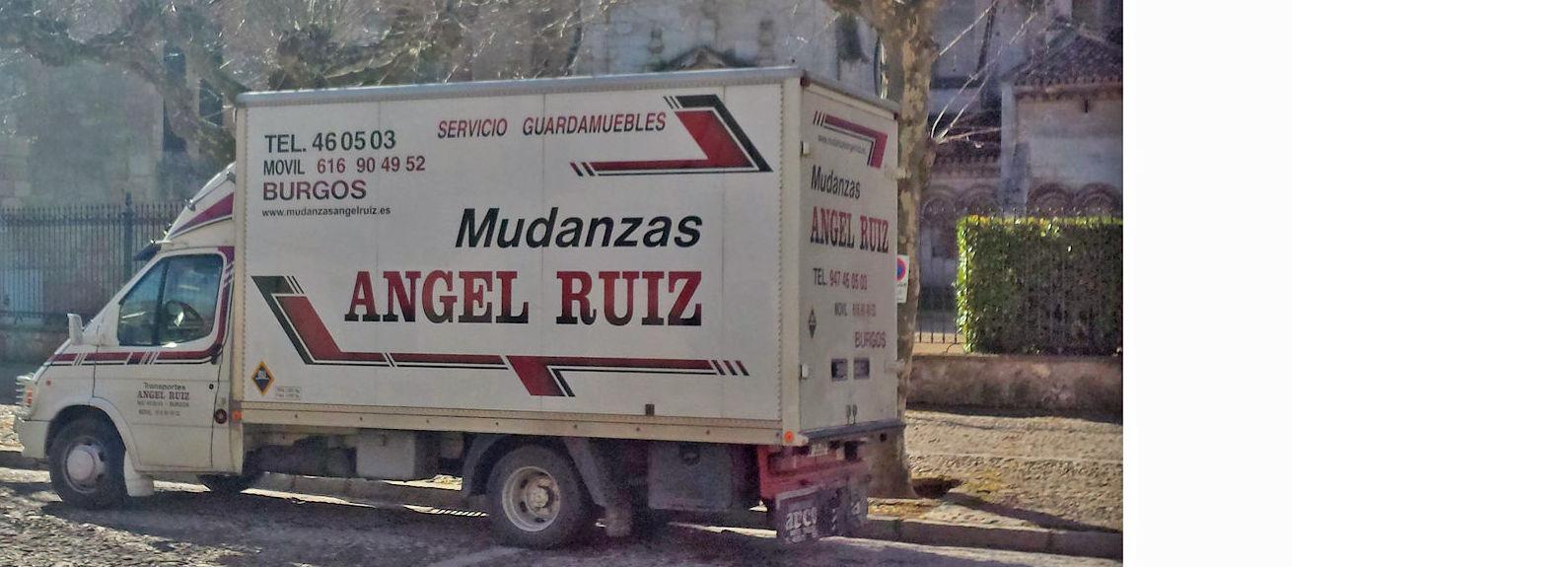 Mudanzas locales y nacionales: Servicios de Mudanzas Ángel Ruiz