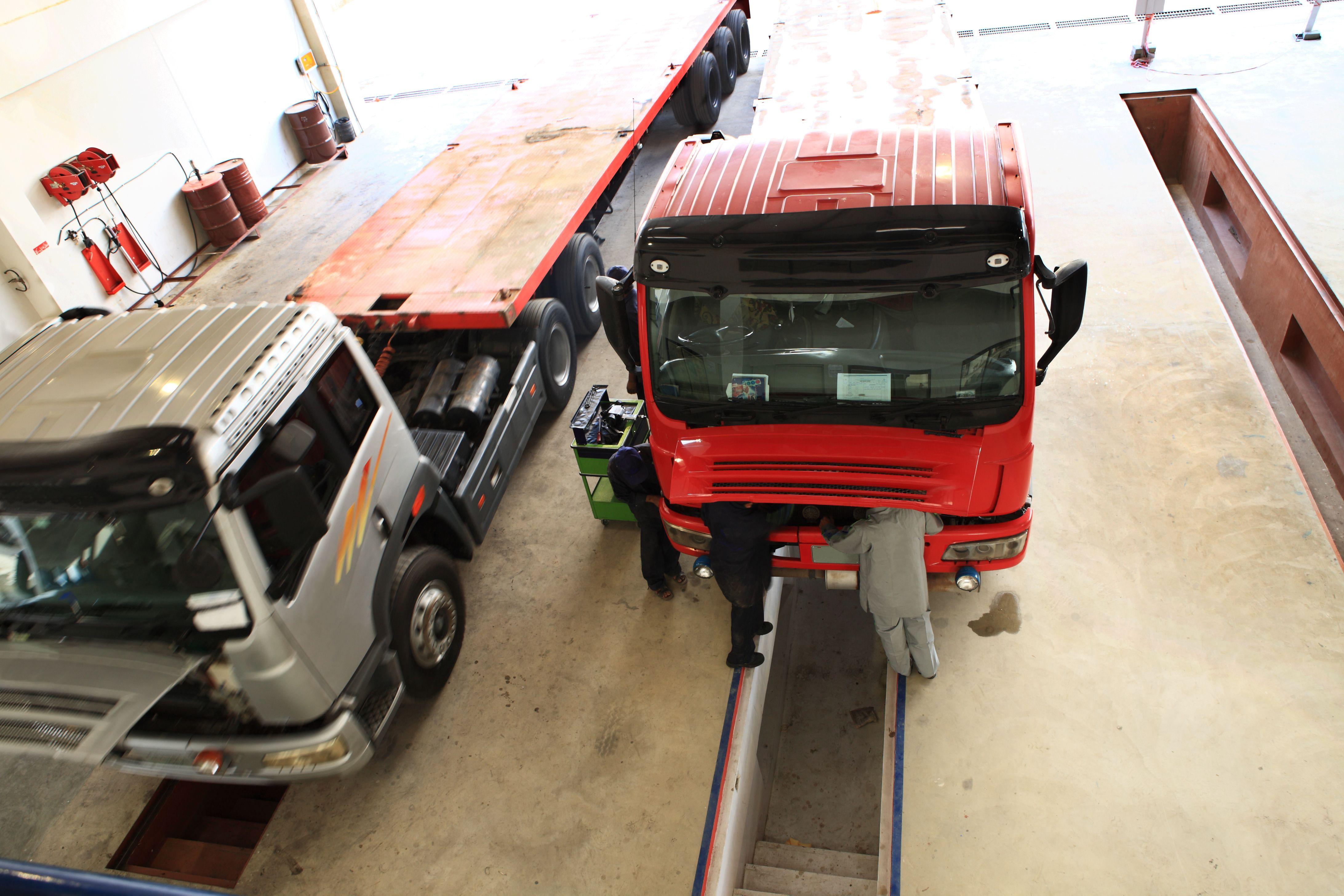 Reparación de camiones y vehículos industriales en Pilas