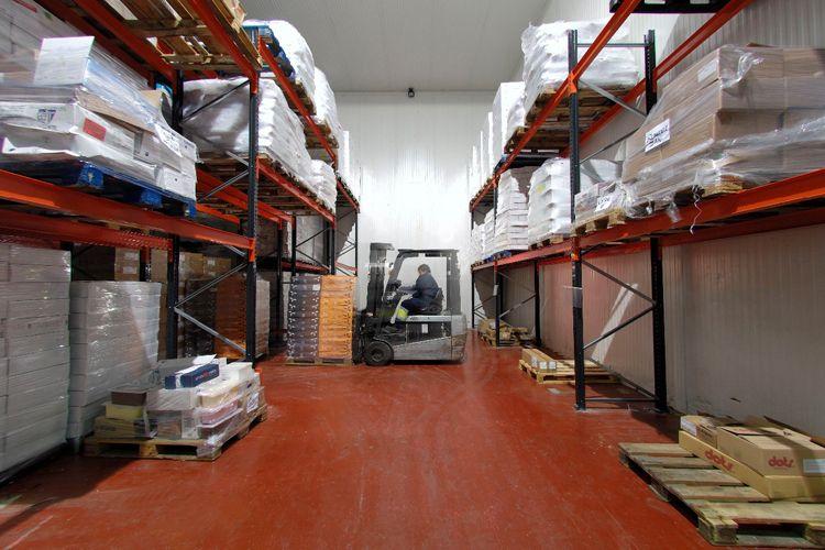 Almacenaje de mercancías a nivel local