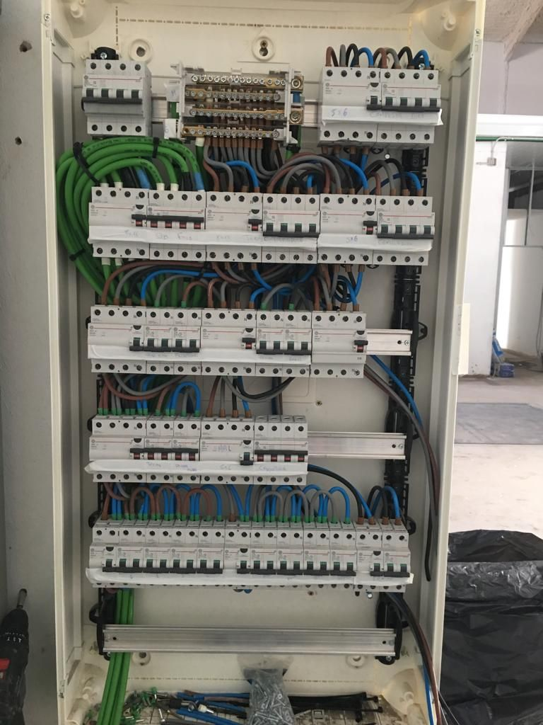 Instalación de cuadros eléctricos en Tenerife