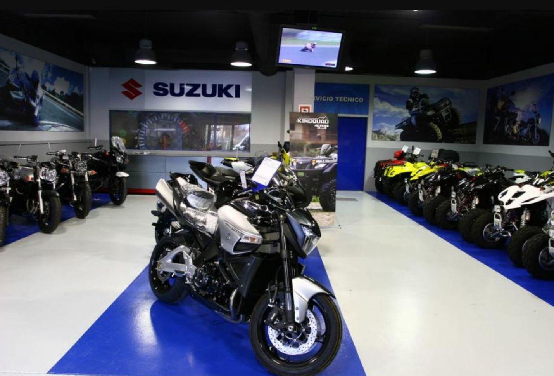 concesionario de motos Suzuki en San Sebastian de los Reyes