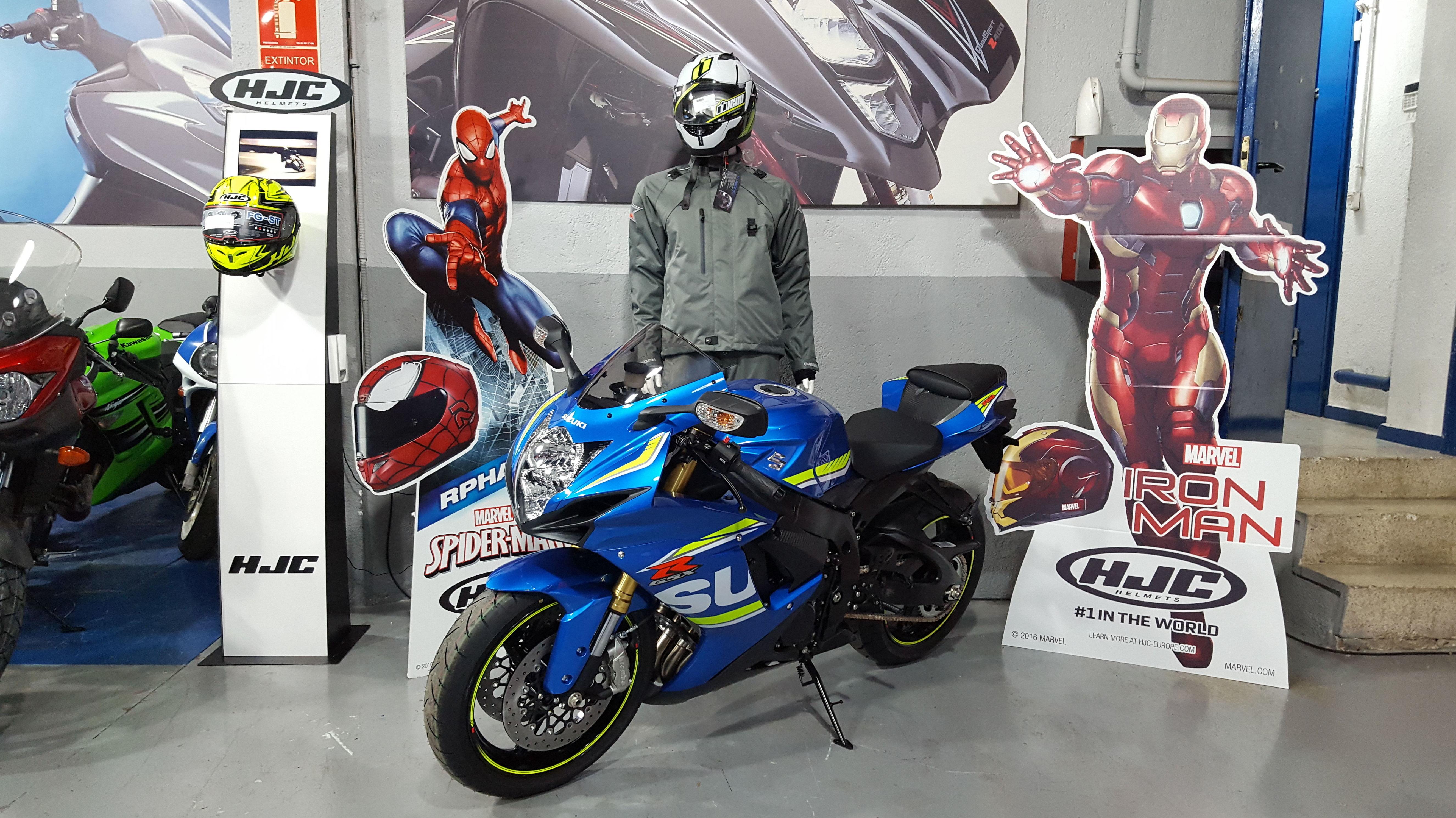 Suzuki Gsxr 750 2017 en Suzuki center, jarama motocicletas