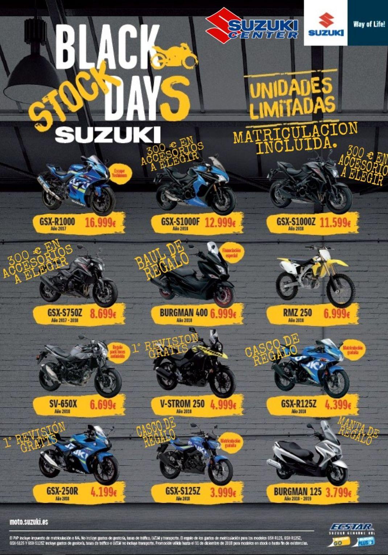 Black days Suzuki Center