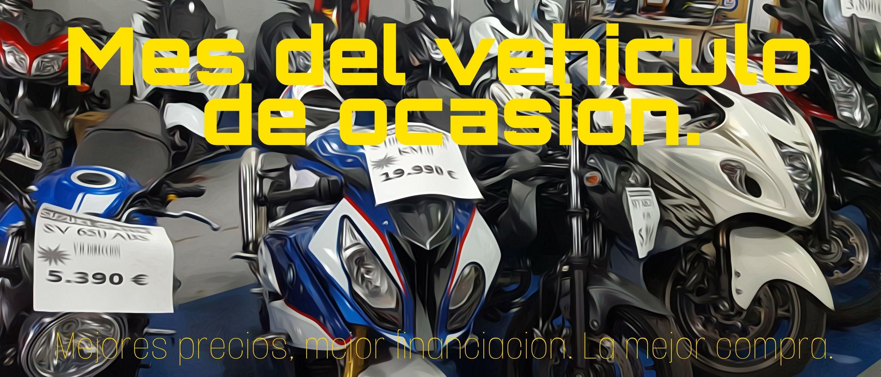 Mes del vehículo de ocasión en Jarama motocicletas San Sebastian de los Reyes Suzuki Center