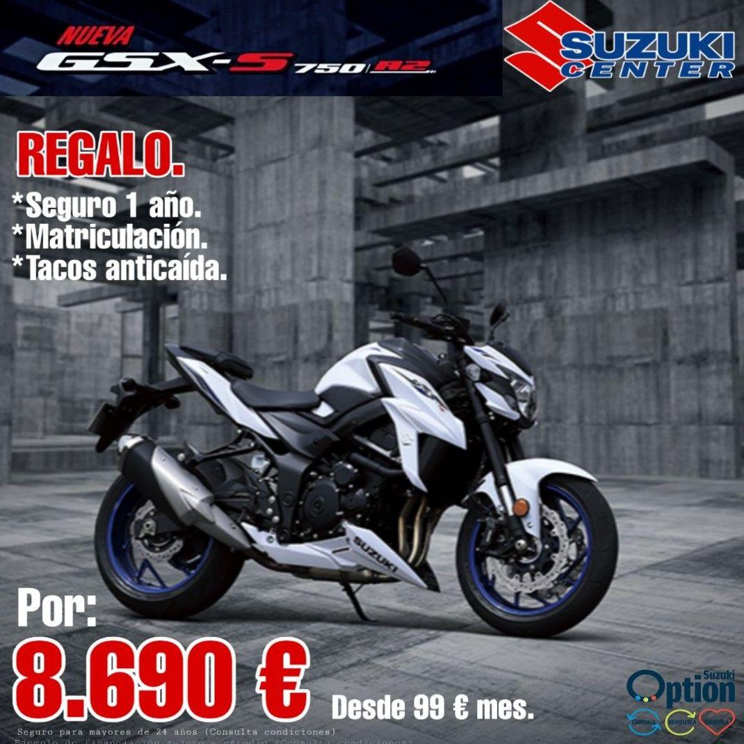 Suzuki Gsxs 750 A2