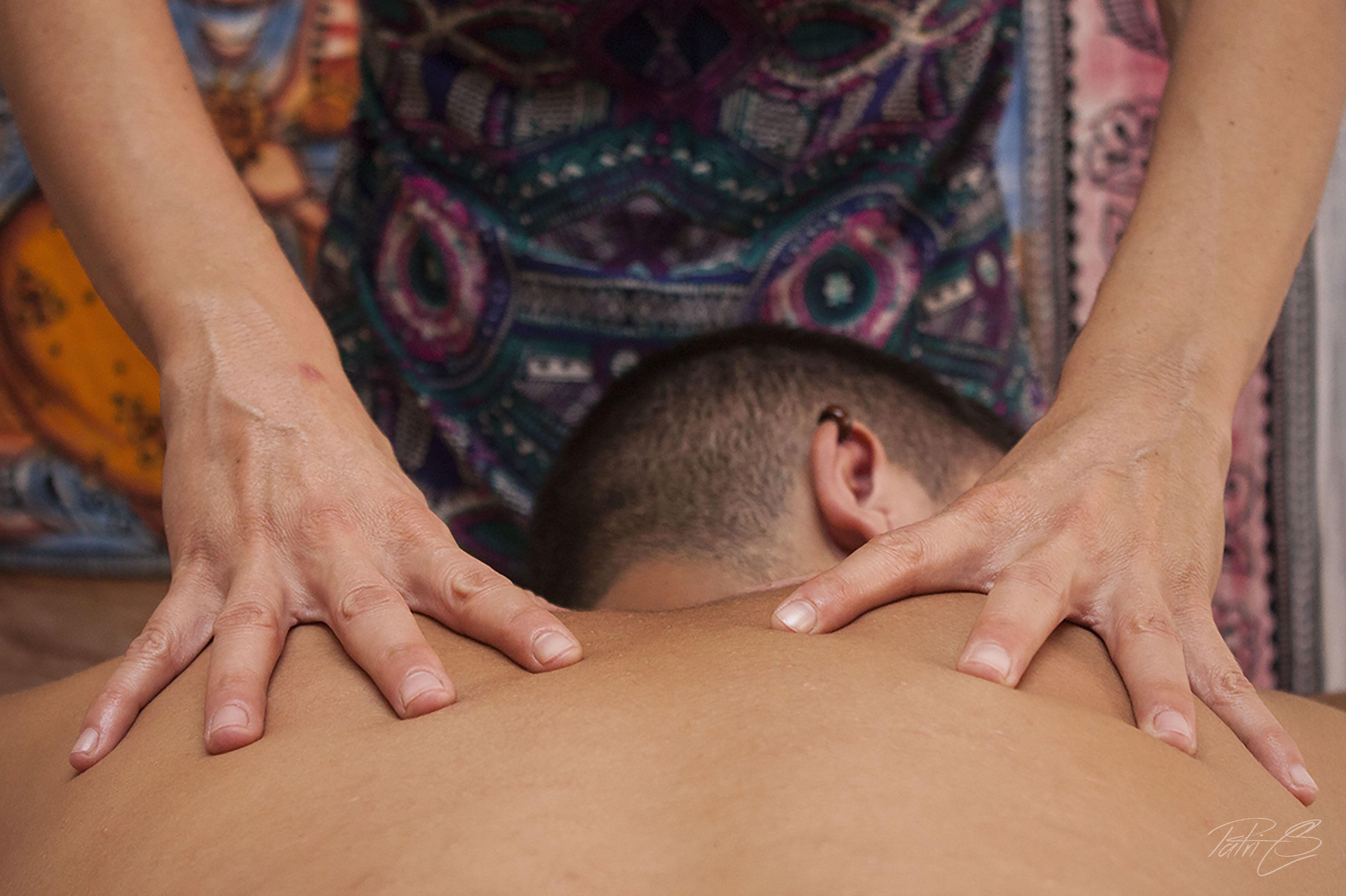 Terapia con masajes