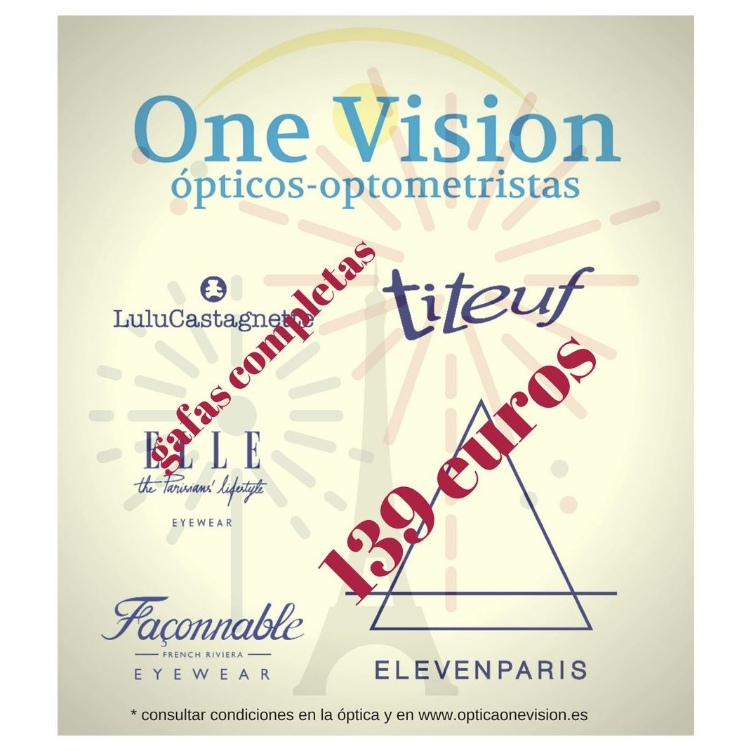 marcas francesas optica one vision