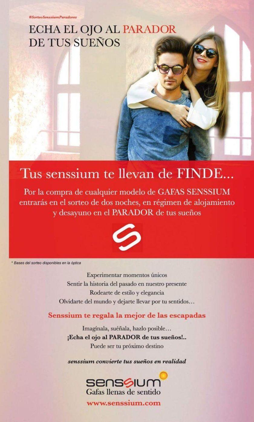 sorteo parador senssium one vision