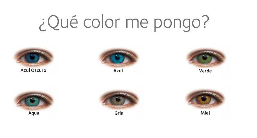 lentes de contacto de colores optica one vision parla