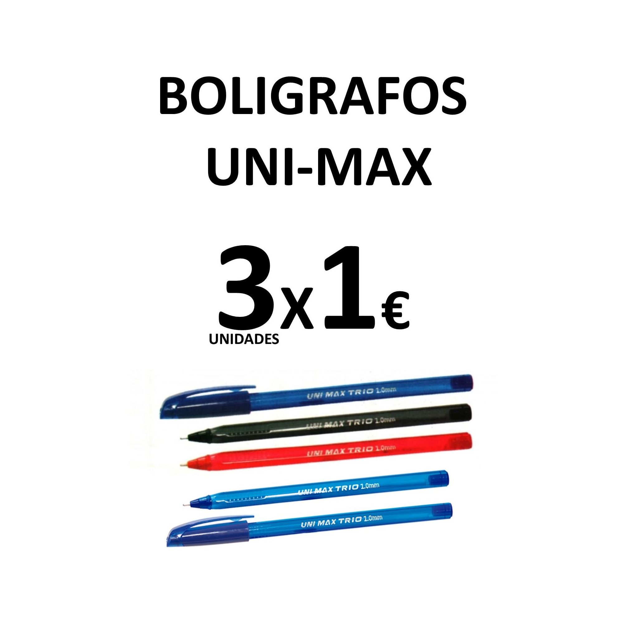 Oferta bolígrafos