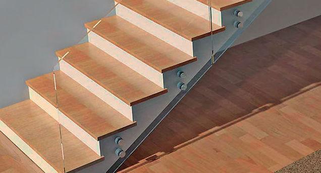Protecciones para escaleras en cristal de seguridad