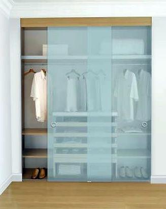 Puertas de cristal para armarios empotrados