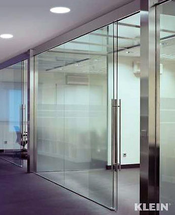 Cristalería Jiménez, puertas y divisiones de cristal para oficinas
