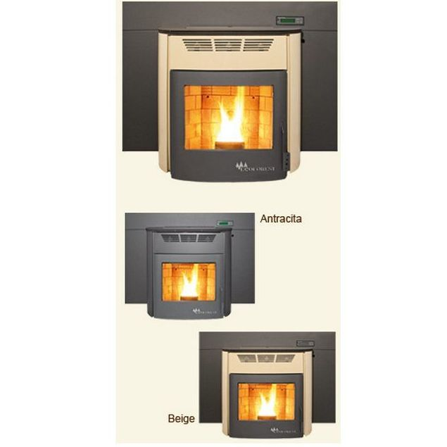 Chimeneas calefactoras de leña y pellets (Biomasa): Productos de Chimenea's