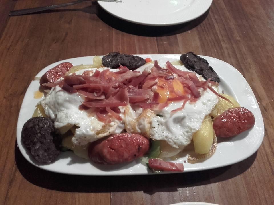 Huevos rotos: Carta de El Rincón Granaíno del Charco