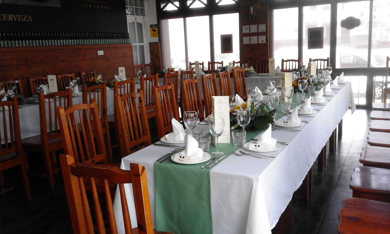 Amplio comedor para eventos y celebraciones en Arrecife
