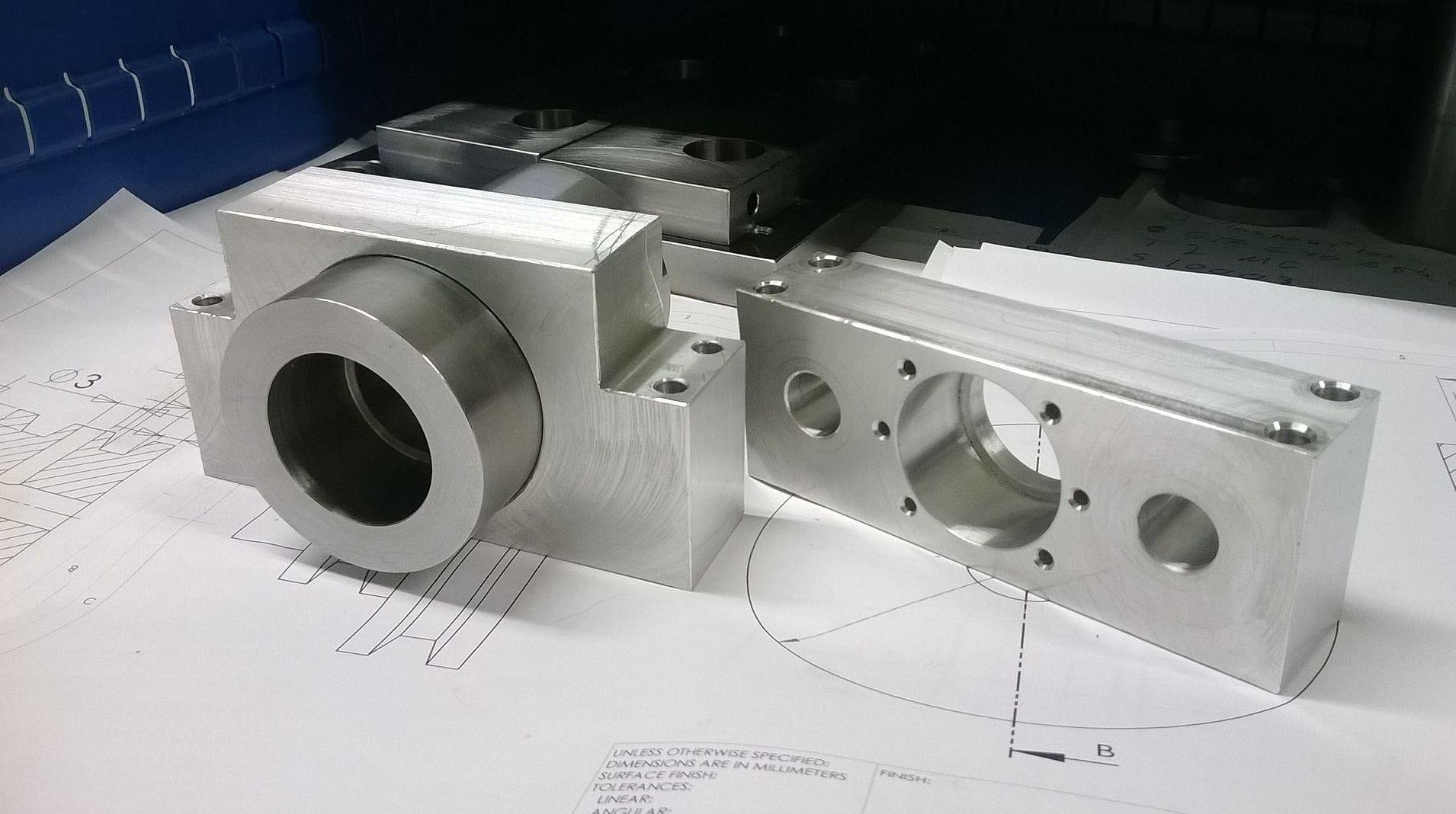 Mecanizados de precisión en Madrid