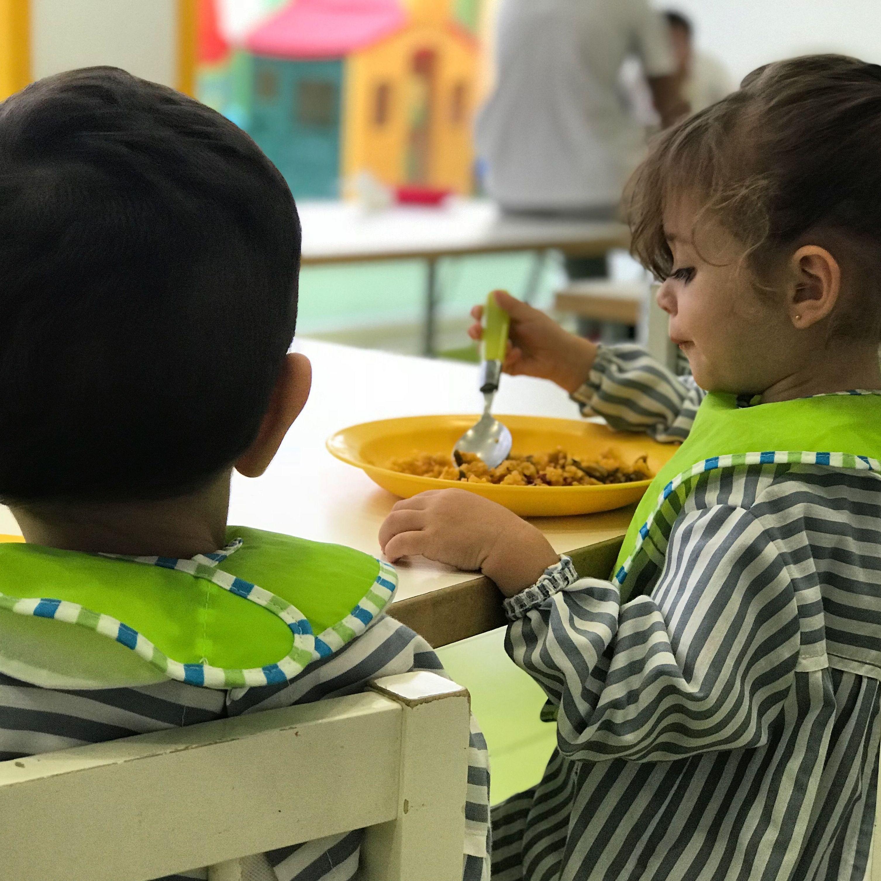 Servicio de comedor: Nuestro método de Little Friends