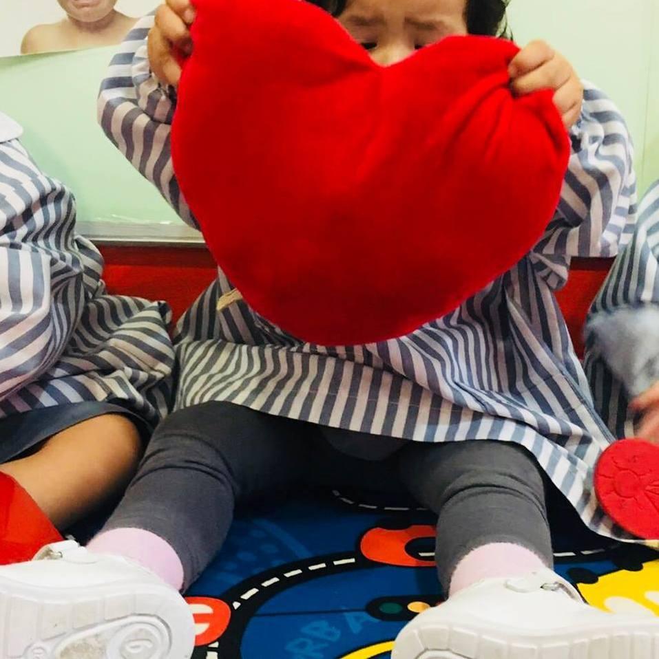 Jugando con el color rojo