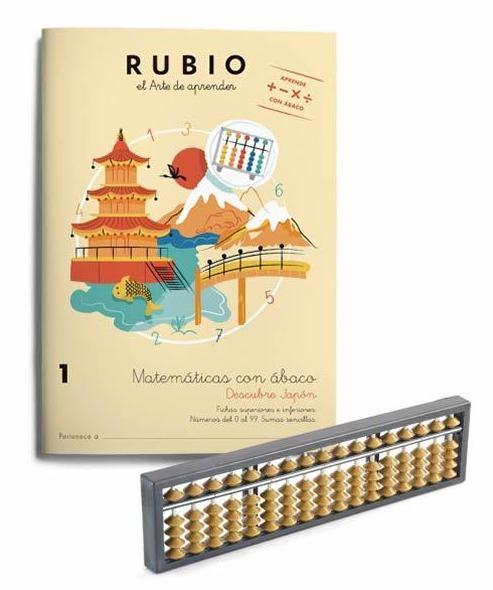 Matemáticas con ábaco. RUBIO. 9788416744374