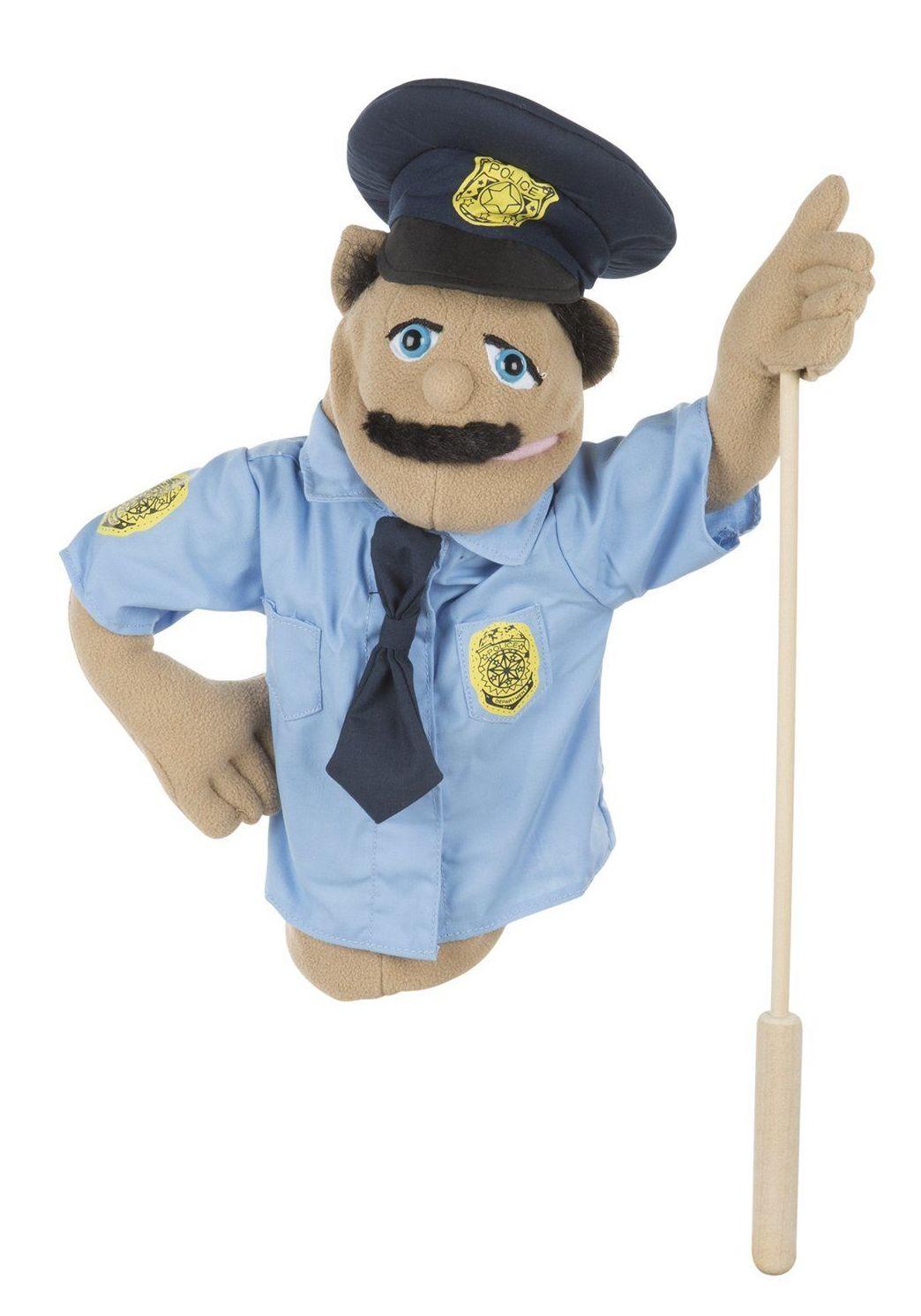 Marionetas Melissa&Doug. POLICE