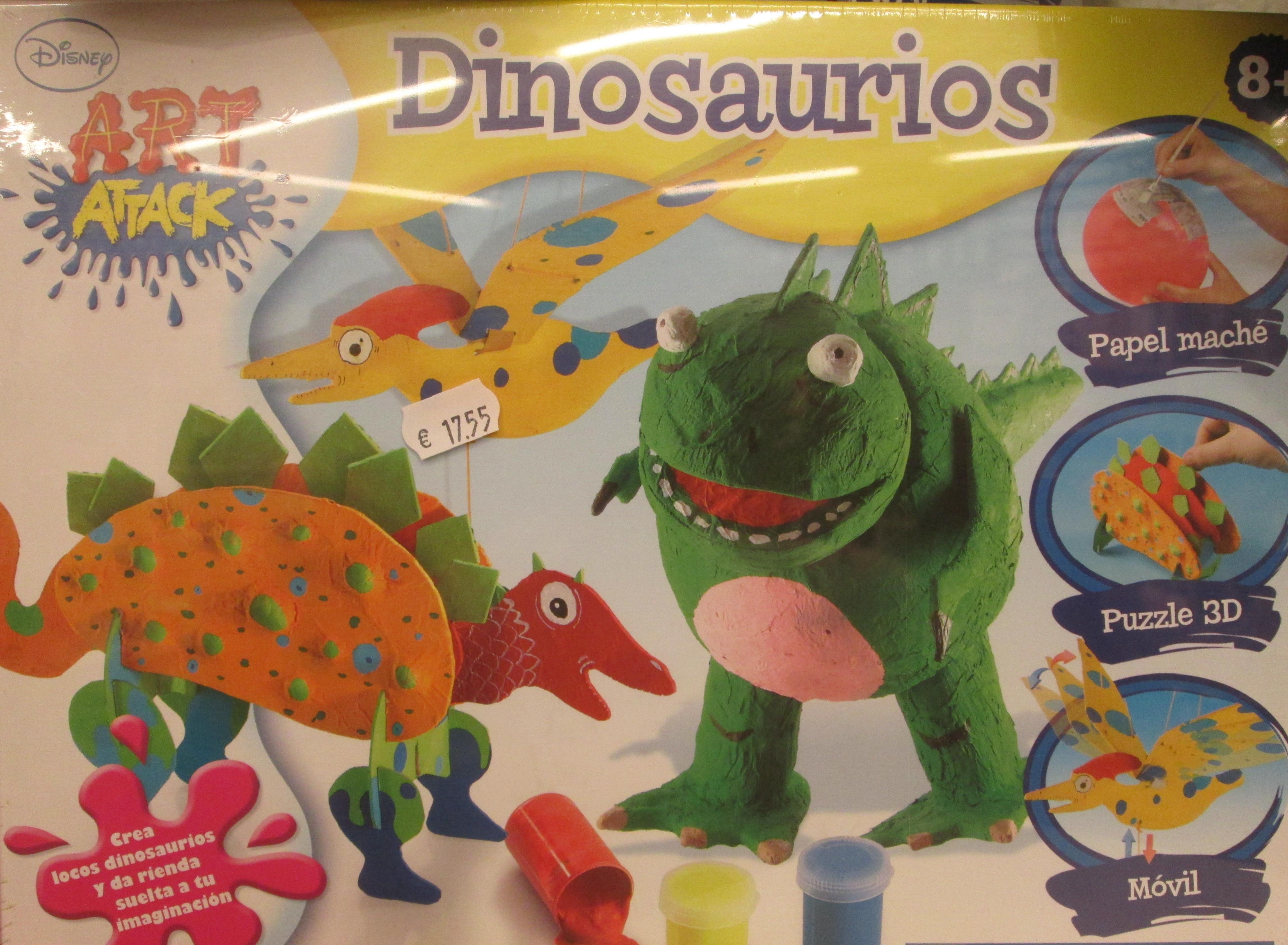 ART ATTAK Dinosaurios