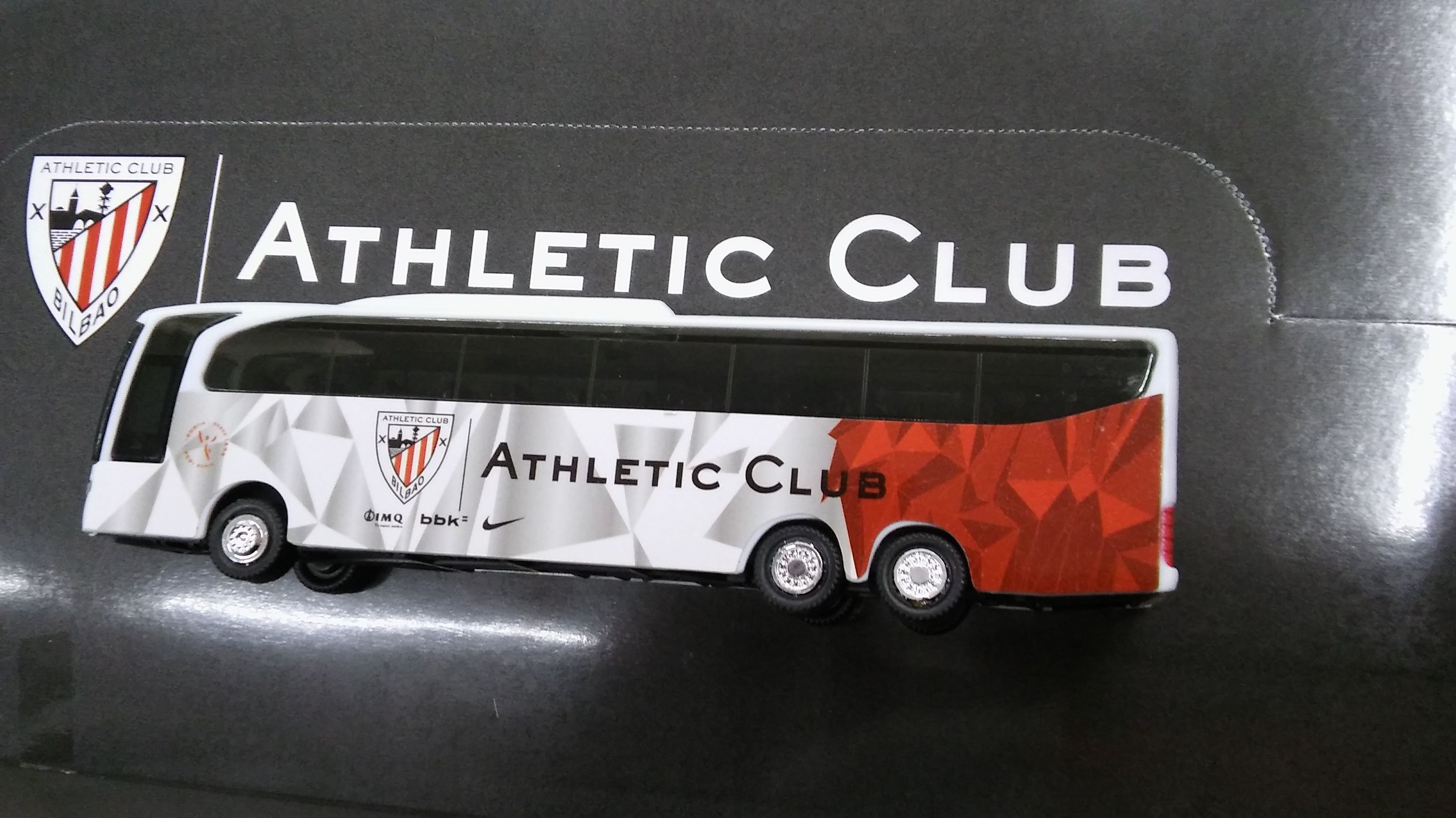 AUTOBÚS MINIATURA ATHLETIC CLUB BILBAO