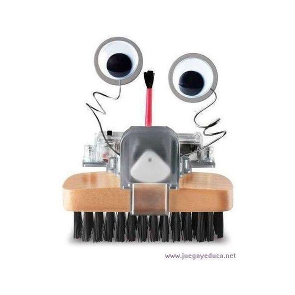 Haz un robot cepillo. BRUSH ROBOT