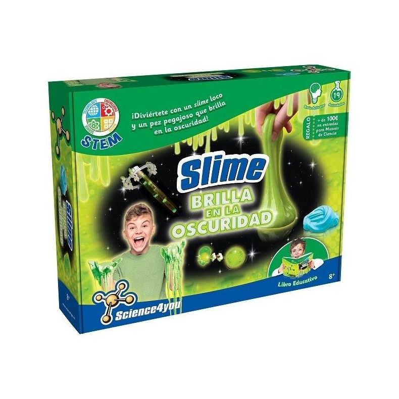 Science4you Slime Brilla en la Oscuridad