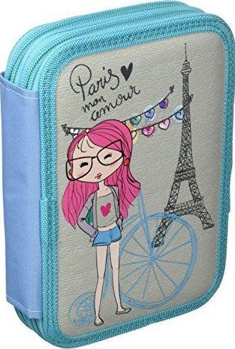Estuche pinturas nena francesa Estuche parisino. 31 piezas