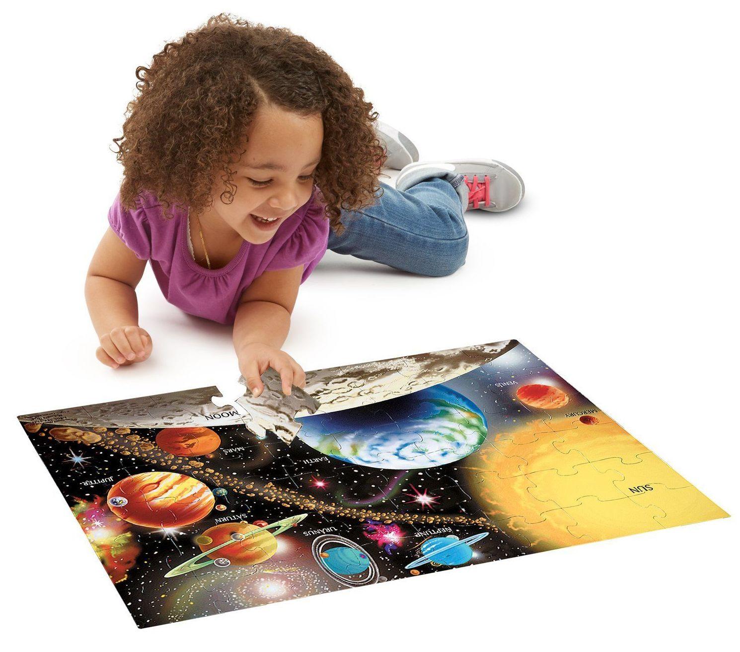 PUZZLE UNIVERSO PLANETAS. SISTEMA SOLAR. MELISSA&DOUG