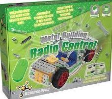 Haz tú mismo tú coche radio contro. Metal Building - Radio Control.