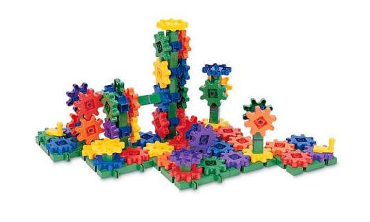 Construcción con engranajes. Beginner´s Building Set